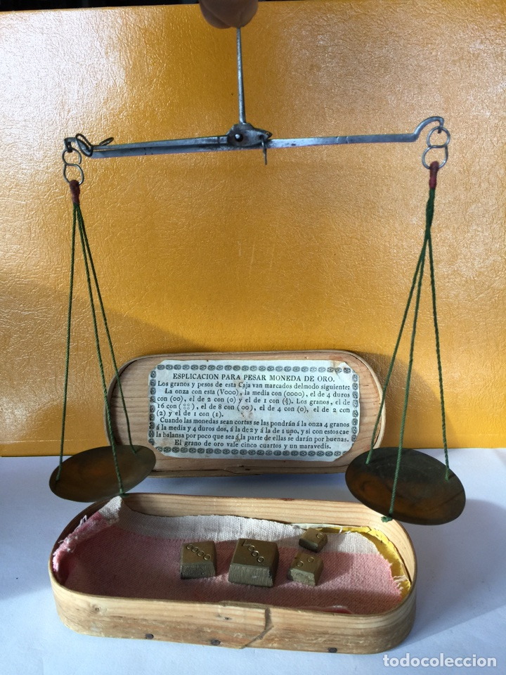 Antigüedades: Balanza del siglo XVIII - Foto 3 - 106980879