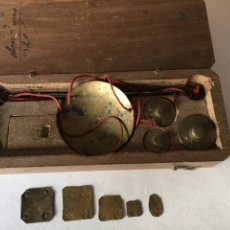 Antigüedades: ANTIGUA BALANZA DEL SIGLO XVIII. Lote 106981295