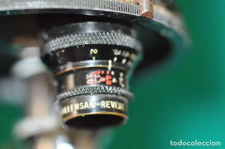 Antigüedades: ANTIGUA CAMARA REVERE 8 MM. MODEL 99 - EN ESTUCHE ORIGINAL - TOMAVISTAS A CUERDA - Foto 3 - 107030323