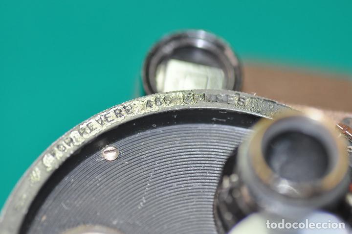 Antigüedades: ANTIGUA CAMARA REVERE 8 MM. MODEL 99 - EN ESTUCHE ORIGINAL - TOMAVISTAS A CUERDA - Foto 6 - 107030323