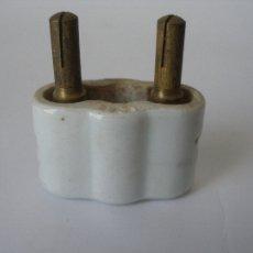 Antiguo enchufe industrial de porcelana 250 v Geco