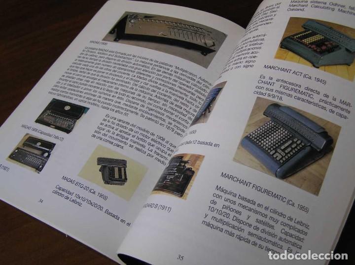Antigüedades: RECUERDOS DEL CÁLCULO MECÁNICO EXPOSICIÓN DE MAQUINAS DE CALCULAR OCTUBRE 2000 - Foto 14 - 107087587