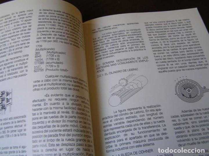 Antigüedades: RECUERDOS DEL CÁLCULO MECÁNICO EXPOSICIÓN DE MAQUINAS DE CALCULAR OCTUBRE 2000 - Foto 21 - 107087587
