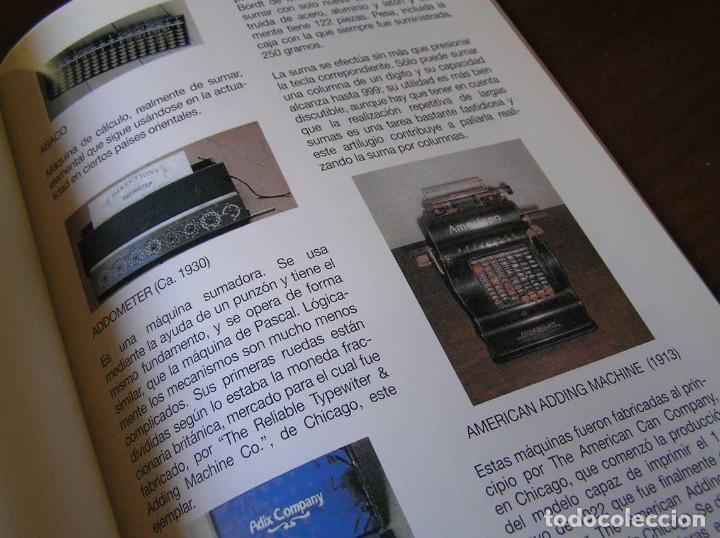 Antigüedades: RECUERDOS DEL CÁLCULO MECÁNICO EXPOSICIÓN DE MAQUINAS DE CALCULAR OCTUBRE 2000 - Foto 25 - 107087587