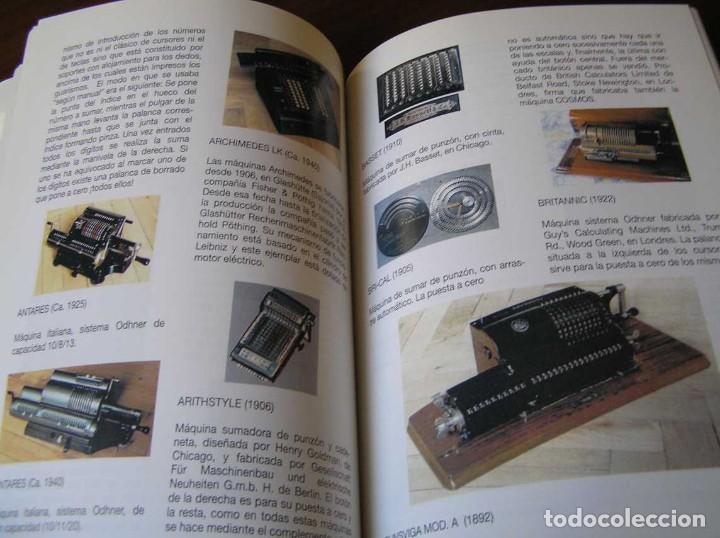 Antigüedades: RECUERDOS DEL CÁLCULO MECÁNICO EXPOSICIÓN DE MAQUINAS DE CALCULAR OCTUBRE 2000 - Foto 26 - 107087587