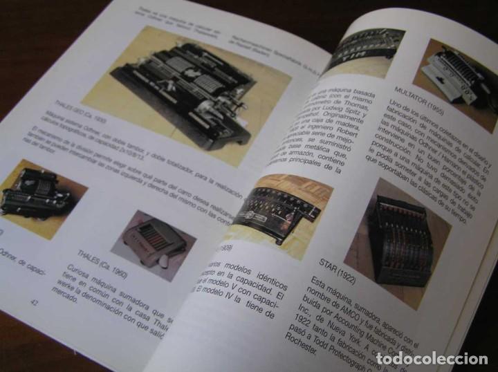 Antigüedades: RECUERDOS DEL CÁLCULO MECÁNICO EXPOSICIÓN DE MAQUINAS DE CALCULAR OCTUBRE 2000 - Foto 29 - 107087587