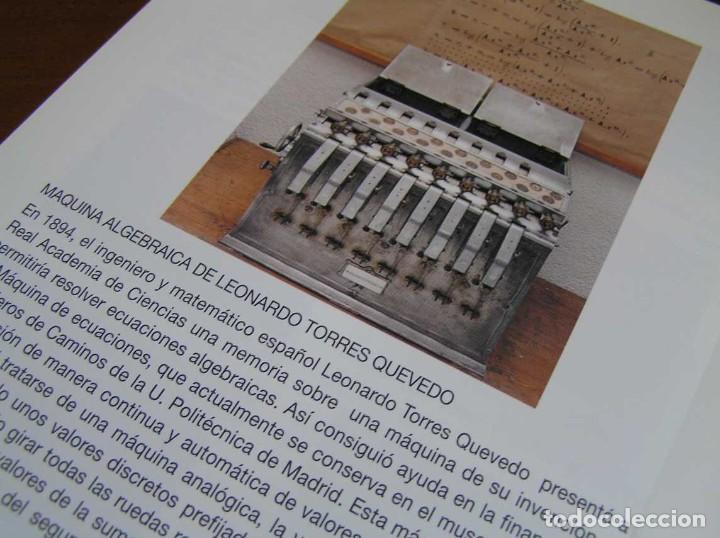 Antigüedades: RECUERDOS DEL CÁLCULO MECÁNICO EXPOSICIÓN DE MAQUINAS DE CALCULAR OCTUBRE 2000 - Foto 30 - 107087587
