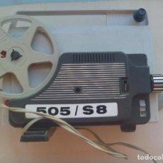 Antigüedades: ANTIGUO PROYECTOR DE SUPER 8 . AUTOMATIC 505 / S8. INSTRUCCIONES EN ALEMAN. Lote 107199451