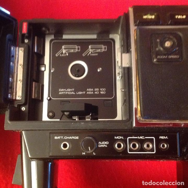 Antigüedades: Tomavistas Eumig Revue direct sound 8, con micrófono , auricular, en su estuche y papeles. Ver fotos - Foto 9 - 107270487