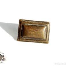 Antigüedades: REMACHE. CLAVO DE PUERTA. EN BRONCE. S. XVI . Lote 107283119