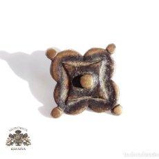 Antigüedades: REMACHE. CLAVO DE PUERTA. EN BRONCE. S. XVI . Lote 107283203