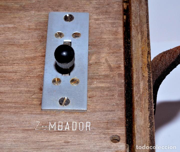 Antigüedades: RARÍSIMO Y MUY ANTIGUO APARATO DE PRUEBAS, POSIBLEMENTE DE TELECOMUNICACIONES EE-59 GR 1 - Foto 7 - 107314347