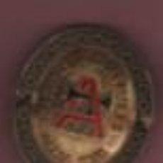 Antigüedades: PEQUEÑA CHAPA O PLACA DE LA MAQUINA DE COSER ALFA - TRADE MARK. Lote 107316735