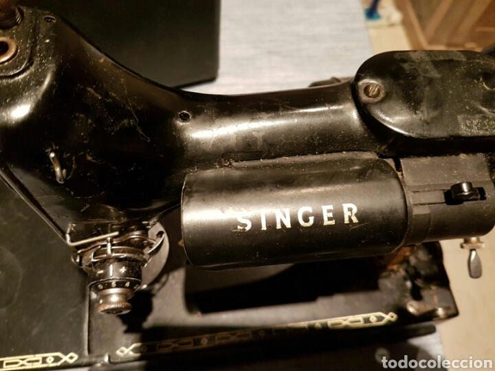 Antigüedades: Antigua Máquina de Coser Singer,Escocesa - Foto 7 - 107415155