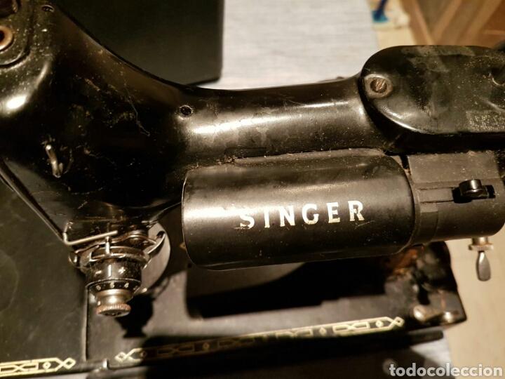 Antigüedades: Antigua Máquina de Coser Singer,Escocesa - Foto 8 - 107415155