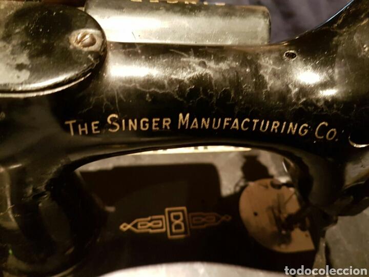 Antigüedades: Antigua Máquina de Coser Singer,Escocesa - Foto 9 - 107415155