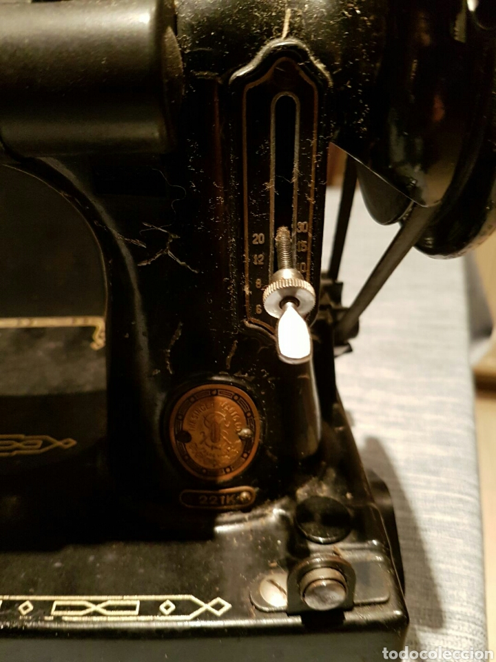 Antigüedades: Antigua Máquina de Coser Singer,Escocesa - Foto 18 - 107415155
