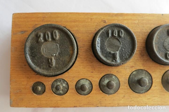 Antigüedades: Caja de pesas Alemania 1916 - Foto 6 - 107500879