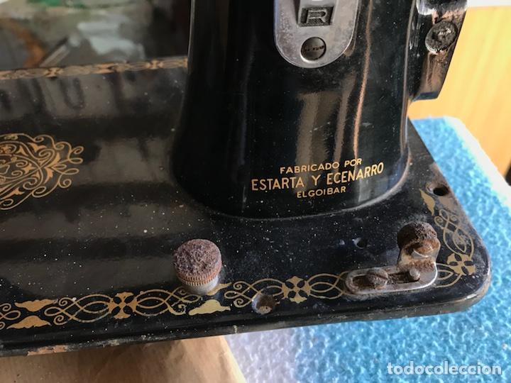 Antigüedades: Antigua maquina de coser Sigma A 107-6 - Foto 6 - 45581287