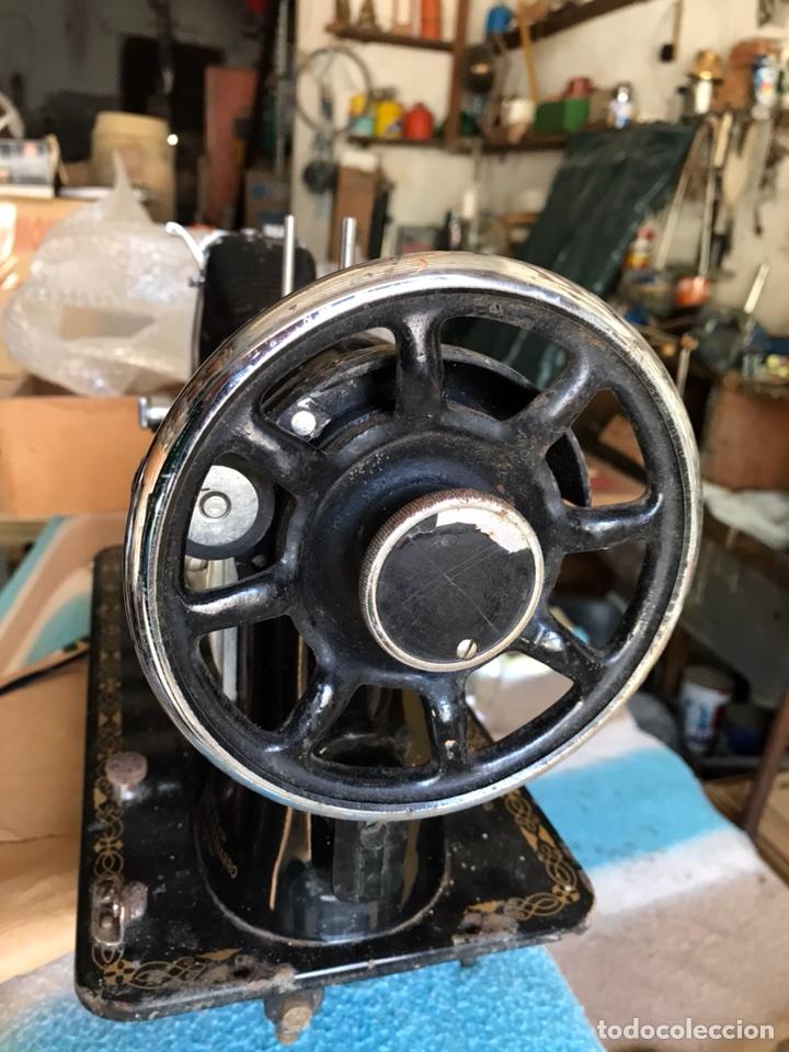 Antigüedades: Antigua maquina de coser Sigma A 107-6 - Foto 8 - 45581287