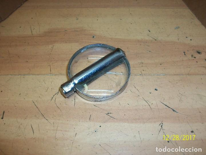 Antigüedades: ANTIGUA LUPA DE METAL - Foto 2 - 107619899