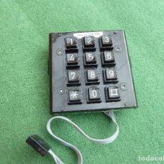Teléfonos: REPUESTO DEL TECLADO PARA EL TELÉFONO TEIDE. Lote 107685603