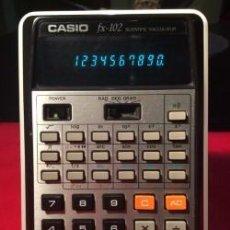 Antigüedades: CALCULADORA CASIO FX 102 ¡ AÑO 1976 !!!!!!!! VINTAGE. Lote 254399495