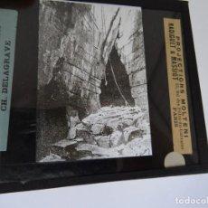 Antigüedades: CRISTAL 10 X 8,5 MOLTENI RADIGUET MASSIOT SORTIE PINKA PLONINA. Lote 107729811