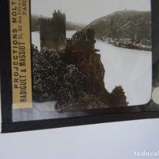 Antigüedades: CRISTAL 10 X 8,5 MOLTENI RADIGUET MASSIOT RHEINSTEIN. Lote 107730527