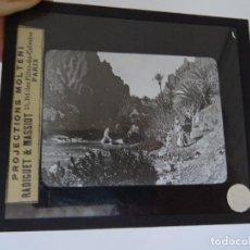 Antigüedades: CRISTAL 10 X 8,5 MOLTENI RADIGUET MASSIOT EL KANTARA DESEERT I OUED. Lote 107730607