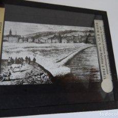 Antigüedades: CRISTAL 10 X 8,5 MOLTENI RADIGUET MASSIOT BARCA SEINE MASEARET. Lote 107730835