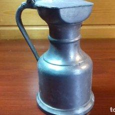 Antigüedades: COPA DE MEDIDA PELTRATO 95%. CINC. Lote 107778523