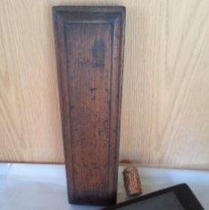 Antigüedades: PIEDRA DE AFILADO PARA FORMONES Y HERRAMIENTAS DE CORTE. ANTIGUA.. Lote 107827355