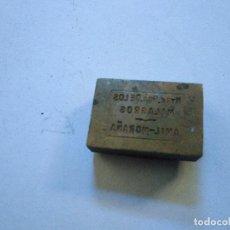 Antigüedades: AMIL MORAÑA PONTEVEDRA ANTIGUO SELLO TAMPÓN CLICHÉ PLANCHA DE IMPRENTA DE NTRA SRA DE LOS MILAGROS. Lote 107845495