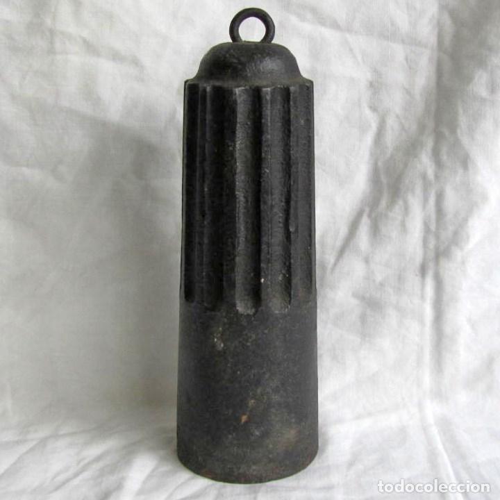 GRAN PESA DE HIERRO DE 5 KILOGRAMOS (Antigüedades - Técnicas - Medidas de Peso - Ponderales Antiguos)