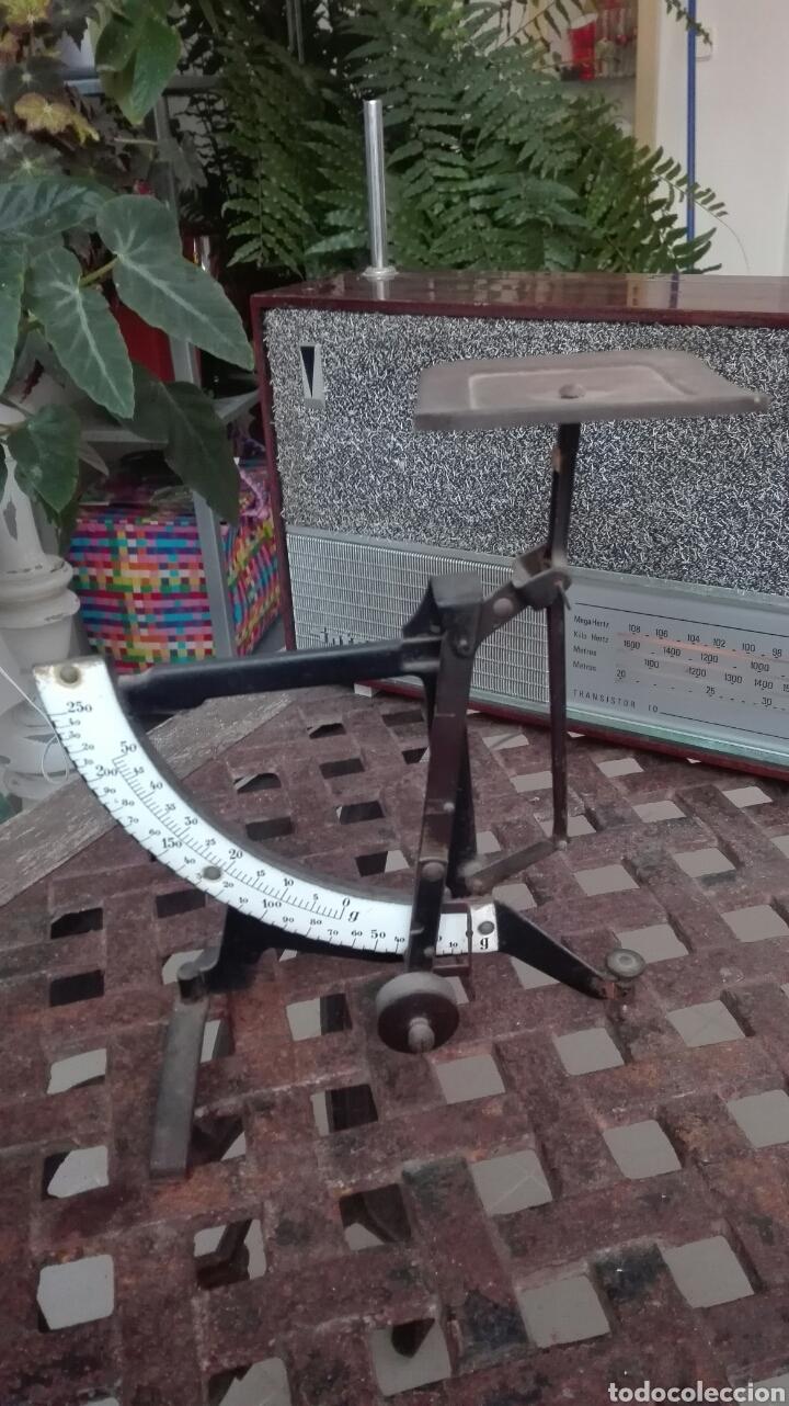 BALANZA PESA CARTAS (Antigüedades - Técnicas - Medidas de Peso - Balanzas Antiguas)