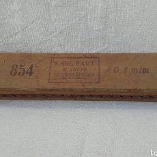 Antigüedades: MOLDE PARA HACER PUROS. Lote 108005216