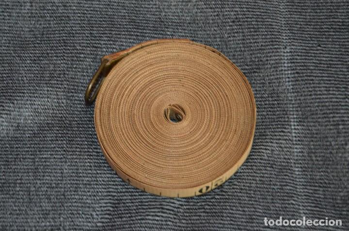 Antigüedades: ANTIGUA Y CURIOSA - CINTA MÉTRICA DE 15M - EN CAJA ORIGINAL - MUY BUEN ESTADO - VINTAGE - HAZ OFERTA - Foto 3 - 208217790