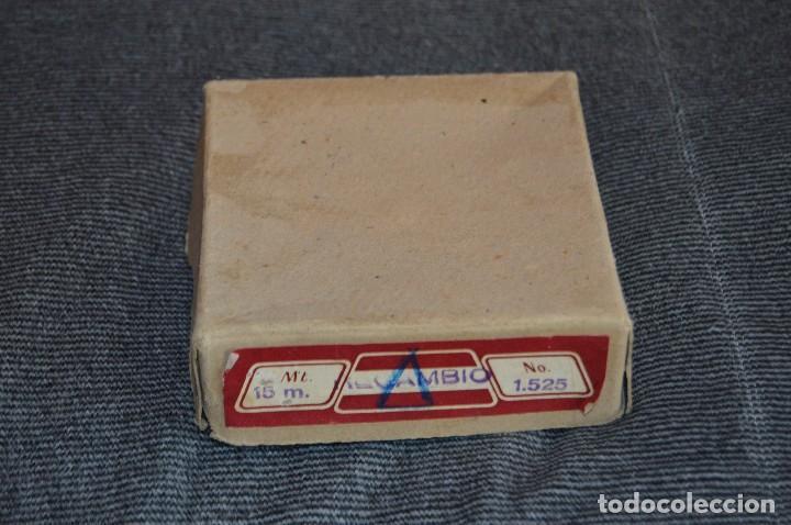 Antigüedades: ANTIGUA Y CURIOSA - CINTA MÉTRICA DE 15M - EN CAJA ORIGINAL - MUY BUEN ESTADO - VINTAGE - HAZ OFERTA - Foto 7 - 208217790