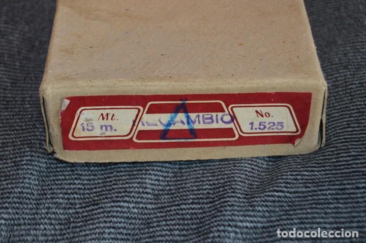 Antigüedades: ANTIGUA Y CURIOSA - CINTA MÉTRICA DE 15M - EN CAJA ORIGINAL - MUY BUEN ESTADO - VINTAGE - HAZ OFERTA - Foto 8 - 208217790