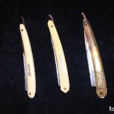 Antigüedades: NAVAJAS DE AFEITAR ANTIGUAS. Lote 108038559