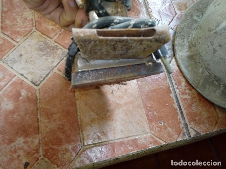 Antigüedades: Antigua plancha eléctrica completa - Foto 3 - 108044423