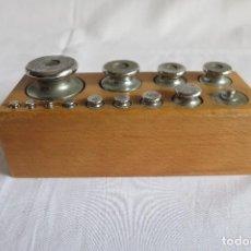 Antiques - caja de pesas de 1 kilo - 108079879