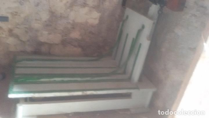 Antigüedades: BASCULA HIERRO-MADERA GRAN FORMATO. - Foto 3 - 108413463