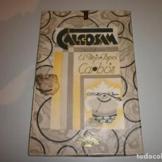 Antigüedades: ANTIGUA CAJA PAPEL CARBON CALCOSAM DIAMANTE AÑOS 20. Lote 108456987