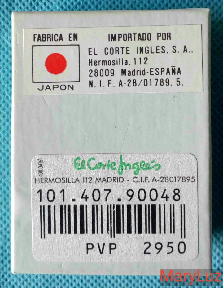 Antigüedades: LUPA-CUENTAHILOS PLEGABLE, DE METAL. (2). Nueva. En su caja original. Fabricada en Japón. - Foto 7 - 108461175