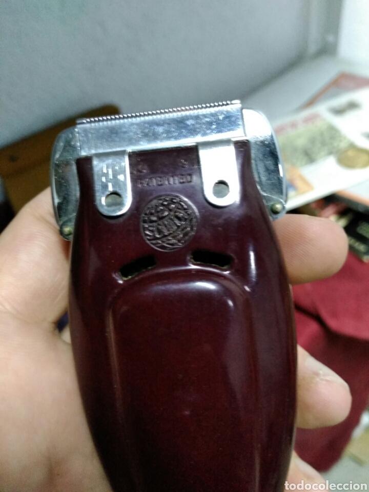 Antigüedades: Antigua maquinilla de afeitar SHICK DRY SHAVER made in canada en caja de piel muy buen estado maquin - Foto 3 - 108537260