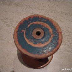 Antigüedades: MUY ANTIGUA BOBINA DE HILO. Lote 108674859