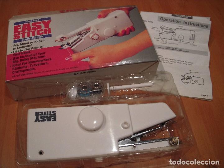 Antigüedades: Máquina de coser portatil. EASY STITCH - Foto 5 - 108676843