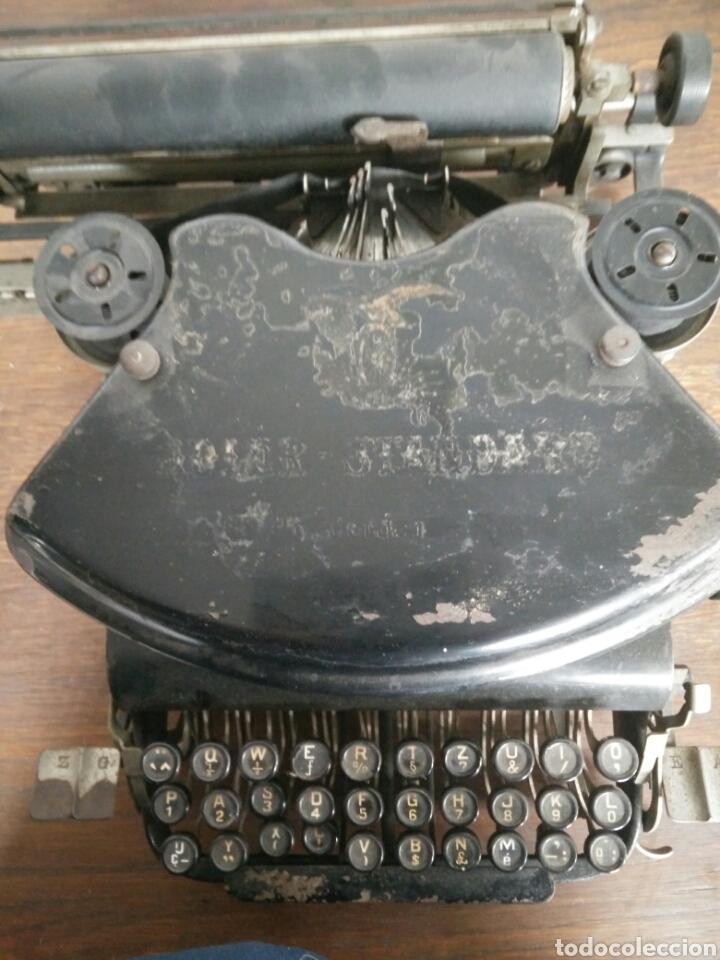 Antigüedades: Maquina de escribir antigua LR - Foto 5 - 108708576